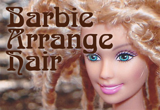 Barbie Arrange Hair